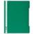 DURABLE Chemise de présentation à lamelles A4+ - gouttière de passage - couverture pvc transparente Vert