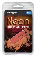 USB-STICK INTEGRAL FD 16GB NEON ORANJE