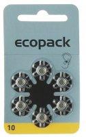 Varta Hörgerätebatterie Ecopack 10-PR70 Blister6