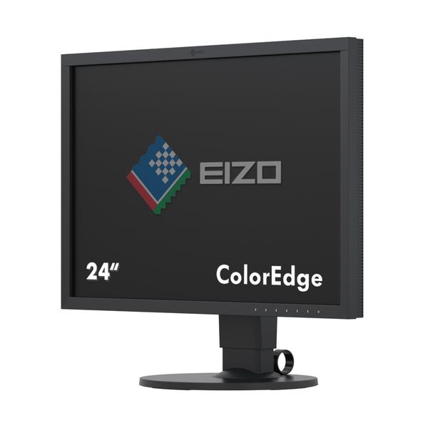 EIZO ColorEdge CS2420 - LED monitor - 24.1 - 1920 x 1200 - IPS - 350 cd/m2 - 1000:1 - 15 ms - HDMI, DVI-D, DisplayPort - černá