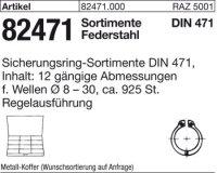 Sorti. Sicherungsringe DIN471