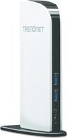 TRENDnet TU3-DS2 Docking Station Universal USB 3.0 für PC and Mac