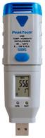 PeakTech Temperatur- und Luftfeuchtigkeits USB-Datalogger Bild 1