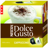 Kapsel Dolce Gusto™, CAPPUCCINO, ergibt: 250ml, 8x25g