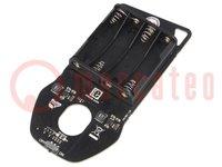Bővítő kártya; mikroBUS aljzat; A készletben: prototípus lemez