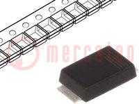 Diodo: raddrizzatore Schottky; SMD; 40V; 5A; SOD128
