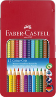 Farbstift Colour GRIP, 12 Farben sortiert im Metalletui