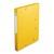 EXACOMPTA Chemise 3 rabats et élastique Exatobox dos de 3 cm, en carte lustrée 5/10e jaune