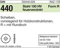 DIN440 R22x72x6