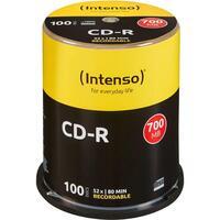 CD-R Intenso 700MB 100pcs Cake Box 52x retail