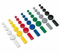 Round Magnets, Ø 15mm, 0,15 kg strength, 10 pcs./Box