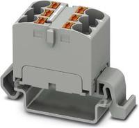 Verteilerblock 18p,waagerecht,pink PTFIX 18X4-NS35A PK