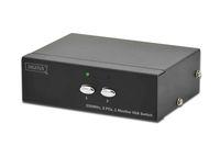 VGA Switch 2-fach, 250MHz, 1920x1080 Pixel, Digitus® [DS-44100-1]