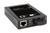 DIGITUS Professional Fast Ethernet Medienkonverter PoE PSE, RJ45/ST, 10/100Base-TX to 100Base-FX, IEEE802.3at (30W), SC Stecker, bis zu 2km