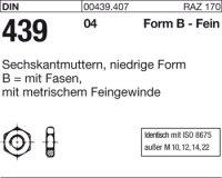 DIN439 BM10x1,25