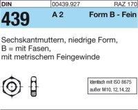 DIN439 BM12x1,25