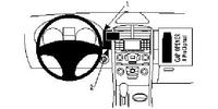 Brodit Fahrzeughalter ProClip für Ford Edge 11-14