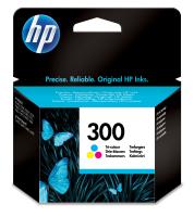 HP 300 Tri-color Ink Cartridge Eredeti Cián, Magenta, Sárga 1 dB
