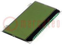 Kijelző: LCD; alfanumerikus; FSTN Positive; 20x4; fehér; 66x38,1mm