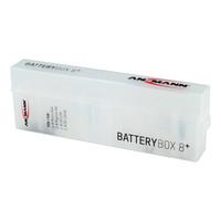 Akkubox für 8 AA/AAA Akkus und Batterien- Hauptansicht