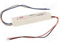 Tápegység: impulzusos; LED; 17,5W; 6÷25VDC; 700mA; 180÷264VAC; IP67