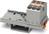 Verteilerblock senkr, 0,2-6qmm grau PTFIX 6X4-NS35 GY
