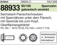 6kt.-Flanschschrauben M12x45
