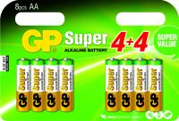 GP Batteries Super Alkaline AA Batéria na jedno použitie Alkalický