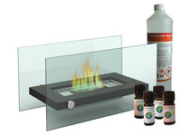 Design Tischkamin 1l Bio Ethanol 4x Duftol Tischfeuer Fur Tolle
