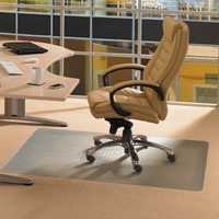 Ecotex Revolution Chair Mat For Carpet 1200x900mm Clear Ref FCECO113648EP