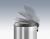 Abfallbehälter Hailo T1 M Stahlbl. Weiß 11L, Inneneimer: Kunststoff,Schwarz Bild 4