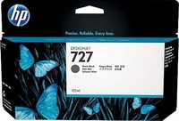 HP 727 matt fekete DesignJet tintapatron, 130 ml