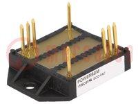 Dreiphasen Brückengleichrichter; Urmax:800V; If:100A; Ifsm:750A
