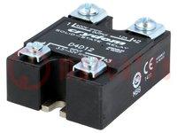 Relé: semiconductor; Uguía:3,5÷32VCC; 12A; 1÷400VCC; Serie:1-DC