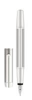 Füllhalter Pura P40, B, silber, Faltschachtel mit 1 Stift
