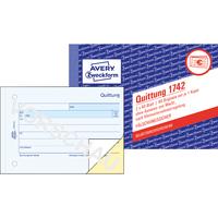 Avery Zweckform Quittung 1742 Kleinunternehmer Din A6 Sd 2x40 Bl Bei
