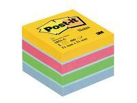 Post-it® Notes minikubus 51 x 51 mm diverse kleuren 400 vellen 2051-U