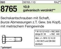 ISO8765 M16x1,5x80