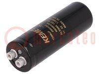 Capacitor: electrolytic; 1500uF; 200VDC; Leads: screw; ESR:90mΩ