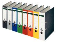 Ordner Standard, mit Farbrücken, mit Schlitzen, A4, breit, sortiert