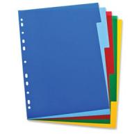 Elba 100205075 divider Multicolor Polypropylene (PP) 5 pc(s)