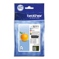 BROTHER Multipack Jet d'encre LC3211VAL