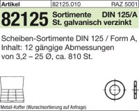 Sortimente Scheiben DIN125