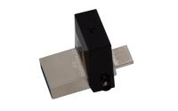 Kingston Technology DataTraveler 64GB microDuo 3.0 USB flash drive USB Type-A / Micro-USB 3.2 Gen 1 (3.1 Gen 1) Black