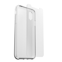 OtterBox Clearly Protected Skin mit AlphaGlass Apple Iphone XR Clear - beschermhoesje + Gehard glazen screenprotector
