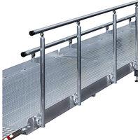 Geländer für Treppenrampe