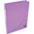 5 ETOILES Chemise simple � �lastique en carte lustr�e 5/10eme 390g. Coloris violet. Dimensions 24x32cm