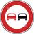 Modellbeispiel: VZ Nr. 276, (Überholverbot für Kraftfahrzeuge aller Art)