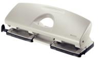 Doppellocher, 1,6 mm, mit Anschlagschiene, grau