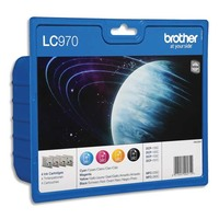 BROTHER multipack cartouche Jet d'encre LC970VALBP